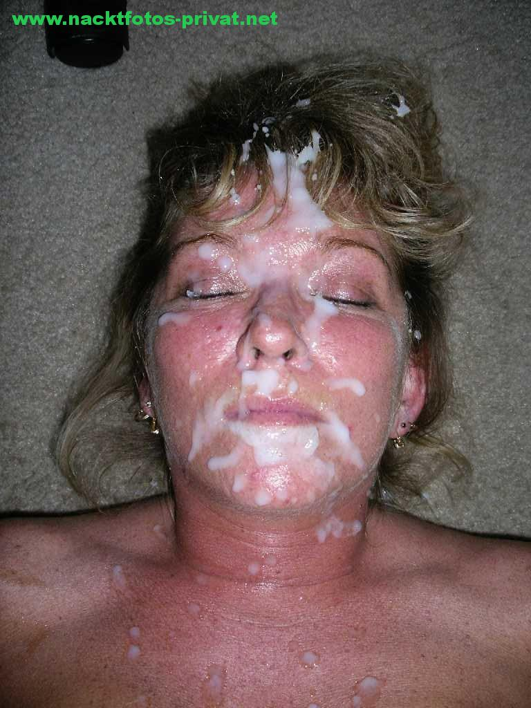 Bukkake Amateur Gesichtsbesamung